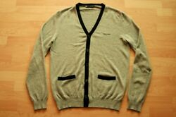 $850+tax Authentic Dsquared2 Men's CashmereWool CardiganSweater Sz.XL Sold out
