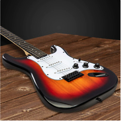Full Size LyxPro Electric Guitar with 20w Amp Package Includes All Accessories $89.95
