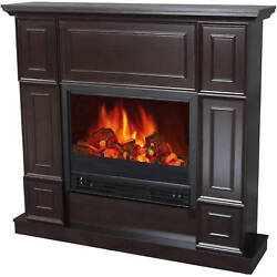 Electric Classic Fireplace w 44
