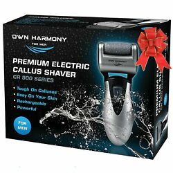 Electric Callus Remover & Rechargeable Pedicure Tools For Men by Own Harmony ... $29.97