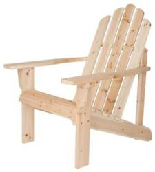 Outdoor Adirondack Chair in Solid Cedar (Natural) [ID 374343]
