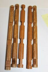 HTF Lot 5 Wooden Lincoln Logs 10-12