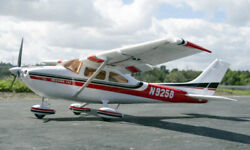 55in EPO Foam 6CH Cessna 182 RC Electric Airplane w Flaps and LED Light PNP $145.00