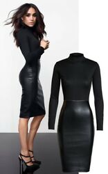 Exclusive Meghan Celebrity Evening Pencil Bodycon Womens Ladies Dress