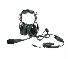 ARC T26036 Heavy Duty Earmuff Headset for Harris (MACOM) XG-100P + XL-200P