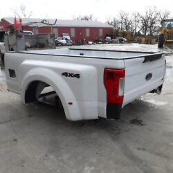2017-2018 FORD F350 F450 SUPERDUTY DUALLY TRUCK BED WITH GATE & CAMERA & LIGHTS