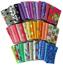 10 Fat Quarters Tula Pink FreeSpirit Assorted Floral Flowers Animals M222.16 $34.97