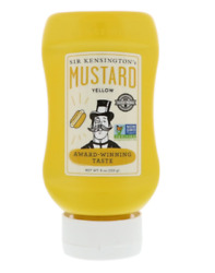 NEW SIR KENSINGTON'S YELLOW MUSTARD GLUTEN FREE CONDIMENTS KOSHER HEALTHY FOODS