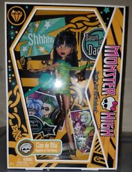 Monster High Doll Cleo de Nile Dawn Of The Dance First Wave Daughter Mummy AR-S2