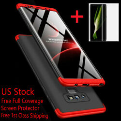 For Samsung Galaxy Note 20 10 9 8 S10 S9 S8 Plus S20 Ultra Shockproof 360° Case $7.98