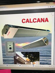 Calcana Outdoor natural gas heater 10ft heavy duty brand new in box PH75