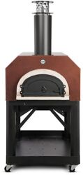 Mobile Wood-fired Pizza Chicago Brick Oven Outdoor Dining Copper 40 x 35.5 Inch