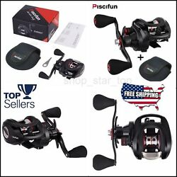 Piscifun Torrent Baitcasting Reel With Cover Bag Carbon Drag 7.1:1 Gear SET BEST $52.99