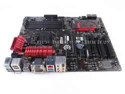 MSI Intel Z87 Express Z87 G43 GAMING LGA 1150 Motherboard DDR3 ATX DVI HDMI $81.60