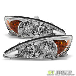 For 2002 2003 2004 Toyota Camry Headlights Headlamps Replacement Lamp LeftRight $82.99
