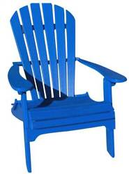 Phat Tommy Recycled Poly Resin Folding Adirondack Chair [ID 89311]