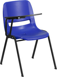 Ergonomic Shell Chair With Right Handed Flip-Up Tablet Arm 17.50