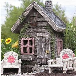 Gardens Fairy Shed House Fairy Cottage Garden Outdoor Home Miniature Decoration