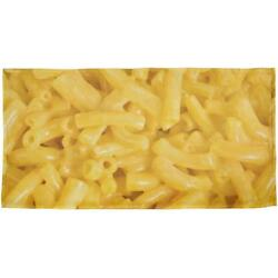 Mac and Cheese All Over Beach Towel $26.95