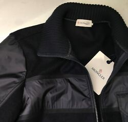 MONCLER  Men's Merino Jacket Brand New With Size 48