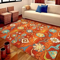 RUGS AREA RUGS 8x10 RUG CARPETS FLOOR MODERN FLORAL BEDROOM 5x7 RED LARGE RUGS $249.00