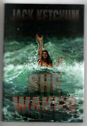 She Wakes by Jack Ketchum (First Hardcover Edition) Limited Signed