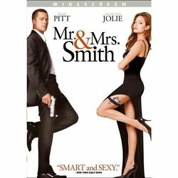 Mr. and Mrs. Smith DVD 2009 Widescreen NEW $3.99