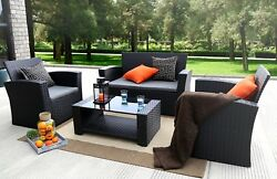 Patio Furniture Sets Clearance Cheap Outdoor Patio Cool Great Deal Garden 4pc