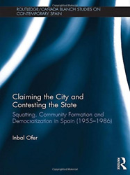 Ofer Inbal-Claiming The City And Contesting The State  (UK IMPORT)  BOOK NEW