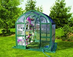 "Portable Greenhouse Growhouse Plant Flower Clear Open Floor 78"" Tall Easy Setup"