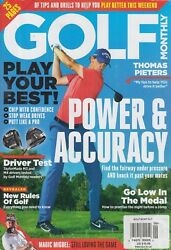 Golf Monthly Thomas Pieters June 2018 Power amp; Accuracy $10.99