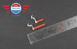 2 x 1 6 Lighted Cigar Short amp; Long Toy Model for 12quot; Figure Doll Accessory $9.87