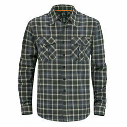 Can-Am Long Sleeve Flannel Shirt with Made of Cotton Atv Quad Can Am