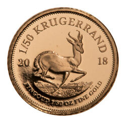 2018 South Africa 150 oz. Gold Krugerrand Proof Coin GEM Proof SKU52839