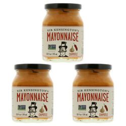 3X SIR KENSINGTON'S MAYONNAISE CHIPOTLE GLUTEN FREE CONDIMENTS KOSHER HEALTHY