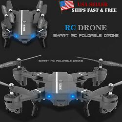 Nano 8807W Foldable With Wifi FPV HD Camera 2.4G 6 Axis RC Quadcopter Drone Toys $45.99