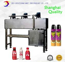 bottle film electric shrinking tunnel ovenbottle sleeve tunnel machine_Shanghai