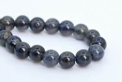 6MM Genuine Natural Iolite Beads South Africa Grade A+ Round Loose Beads 7.5
