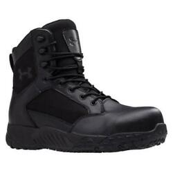 Under Armour 1276375 UA Mens Stellar TAC Protect Tactical Boots Black $54.99