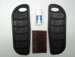 SUZUKI BOULEVARD REPLACEMENT FLOOR BOARD RUBBERS KIT 99950 70278 001 $32.95