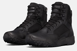 UNDER ARMOUR STELLAR TACTICAL SIDE ZIP BOOTS 1303129 BLACK 001 ALL SIZES $66.50