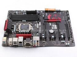 MSI Intel Z77 Motherboard Z77A G45 GAMING LGA 1155 DDR3 ATX DVI USB3.0 $168.85