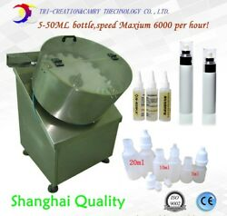 automatic bottle unscrambler machinesmall dose round bottle sorter withelevator