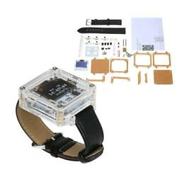 New SCM Transparent LED Digital Tube Wristwatch Electronic Watch DIY Kit C5S7 $13.01