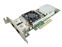 Dell Broadcom 57810S Dual Port 10GBASE T Converged Network Adapter HN10N Low Pro $29.98
