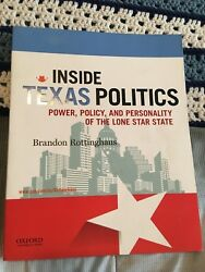 Inside Texas Politics : Power Policy and Personality of the Lone Star State