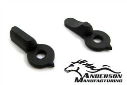 Anderson Ambi Ambidextrous Safety Selector. Made In USA. Scalloped