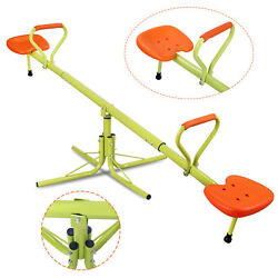 360 Degree Rotation Outdoor Kids Seesaw Teeter Totter Swing Playground Play Set