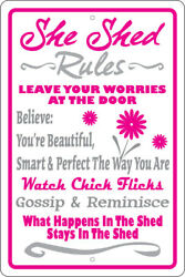 SHE SHED RULES 12