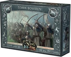 A Song of Ice and Fire Miniature Game Stark Bowmen NIB $28.00